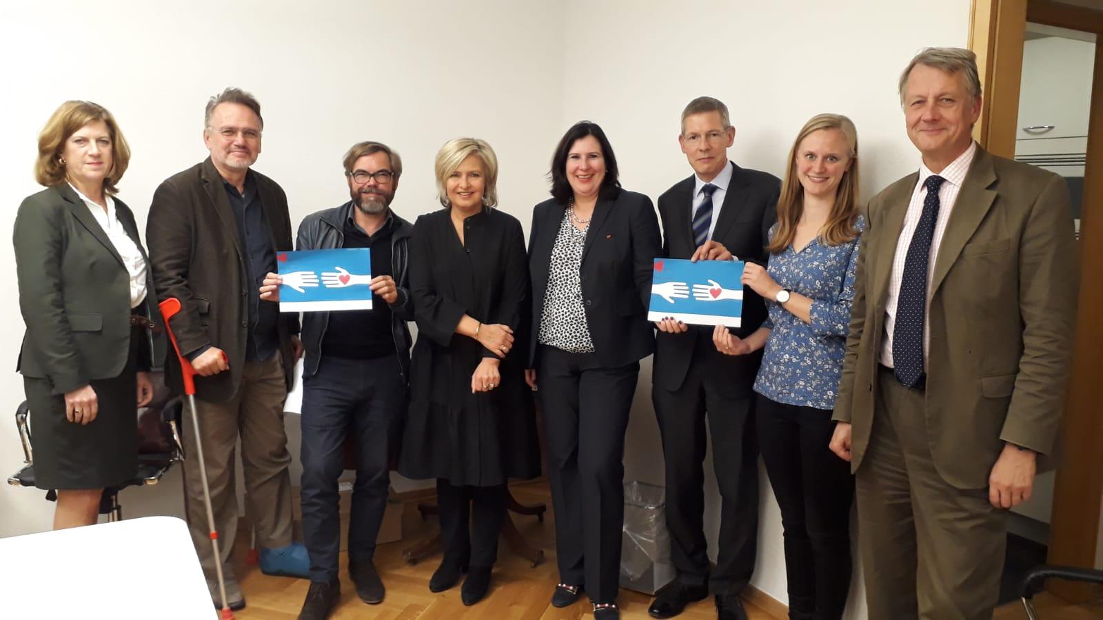 Vereinsgründung Leben Spenden e.V. - Bündnis für Organspenden